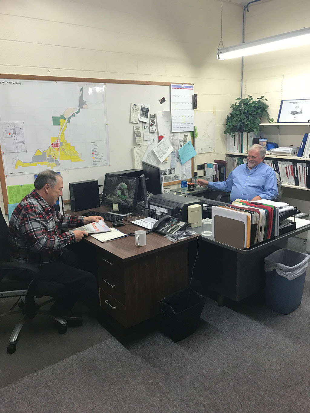 Patenode and Pilley are crafting a 50 year plan for the city of Drain