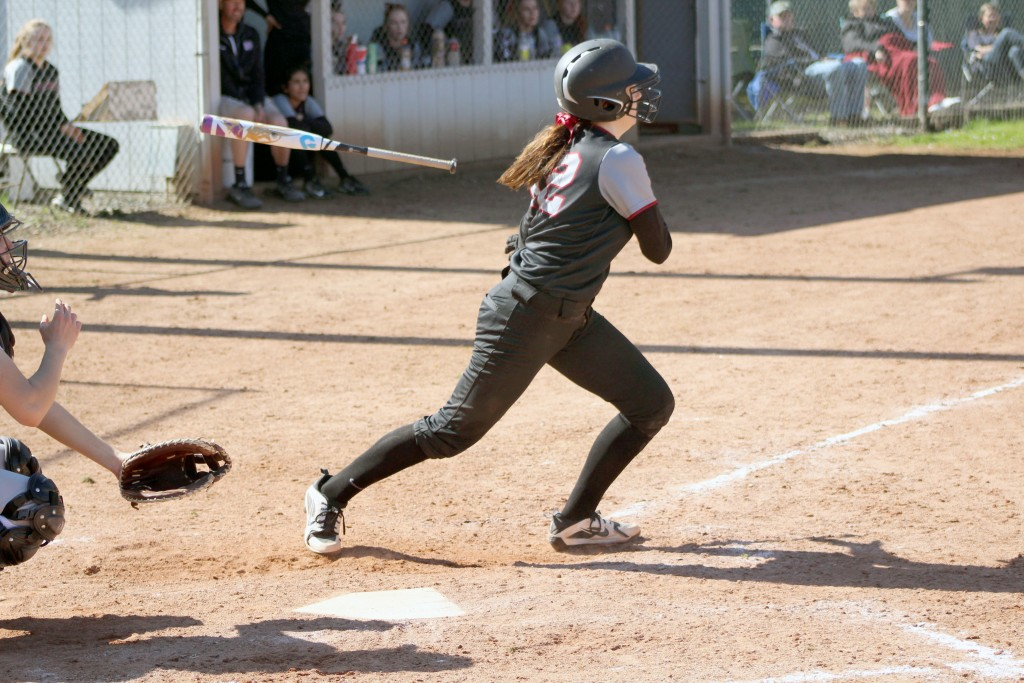 CV softball breaks out big bats in two wins